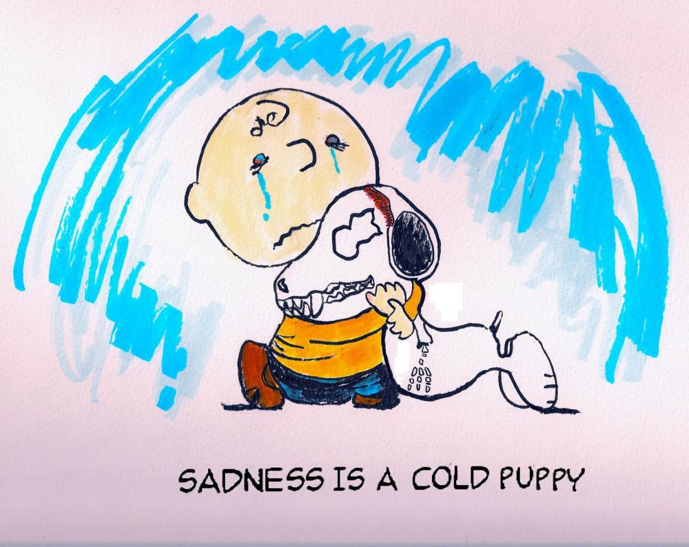 Sadness is a Cold Puppy